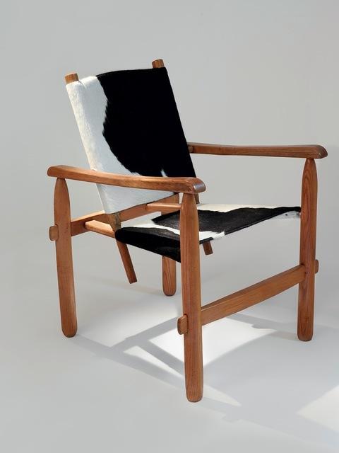 , 'Cowhide skin Armchair,' ca. 1950, Galerie Downtown - François Laffanour