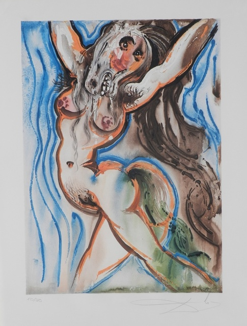 Salvador Dalí, 'Dalinean Horses Woman-Horse', 1972, Fine Art Acquisitions