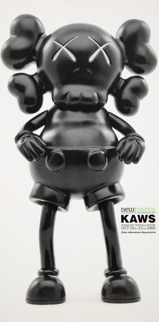 KAWS, 'Kaws Window Installation, exhibition poster', 2000, Print, Offset lithograph in colors on paper, Heritage Auctions