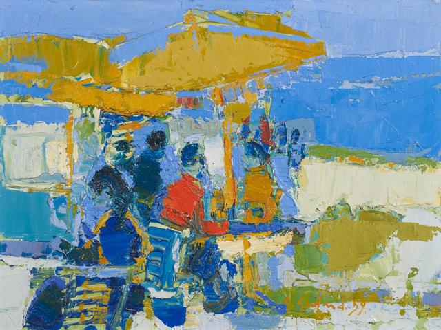 Gabriel Godard, 'Untitled', 1959, Painting, Oil on canvas (framed), Rago/Wright