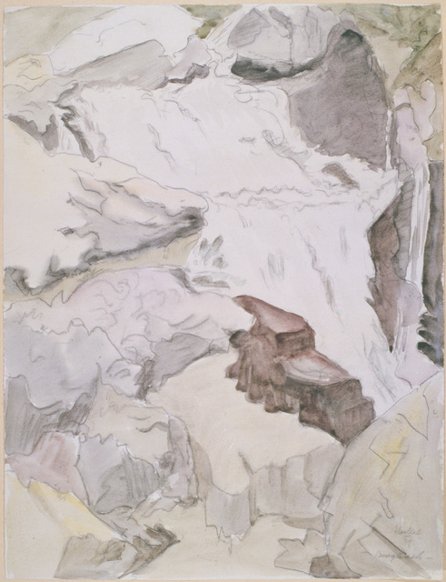 Erich Heckel, 'Bergbach ', 1957, Henze & Ketterer