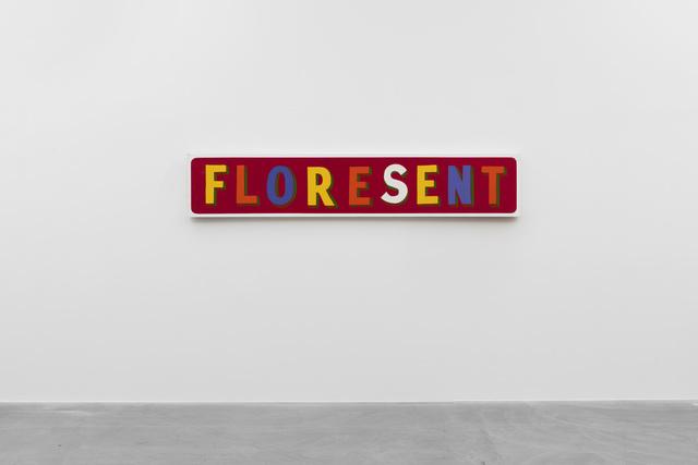 , 'FLORESENT,' 1999, von Bartha