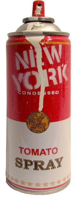 Mr. Brainwash, 'Spray Can: New York (White)', 2016, Taglialatella Galleries