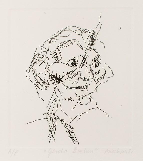 , 'Gerda Boehm,' 1981, Castlegate House Gallery