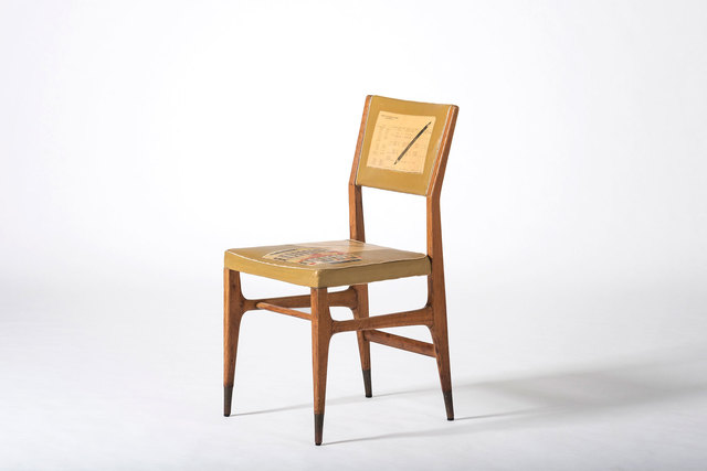 , 'Rare chair for the Vembi-Burroughs offices and training center,' ca. 1950, Casati Gallery