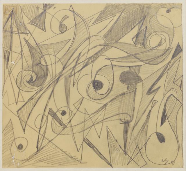 , 'Untitled,' 1950, Jahn und Jahn