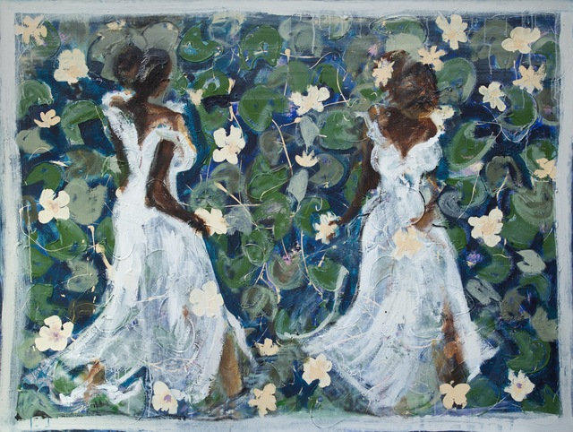 , 'Field of Lilies,' 2014, Wentworth Galleries