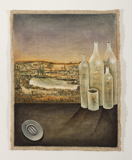 , ' Between bottles and fruits, field and sky,' , MCHG - María Casado