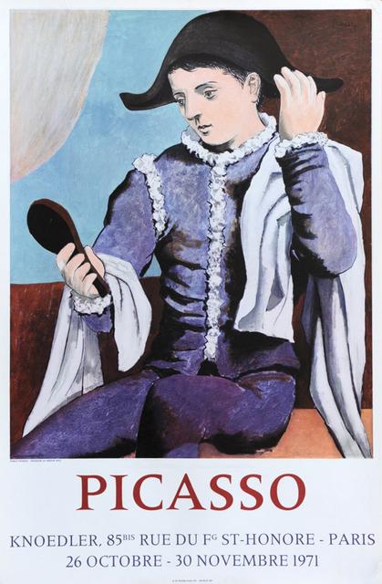 Pablo Picasso, 'Poster for Galerie Knoedler', 1971, Hans den Hollander Prints
