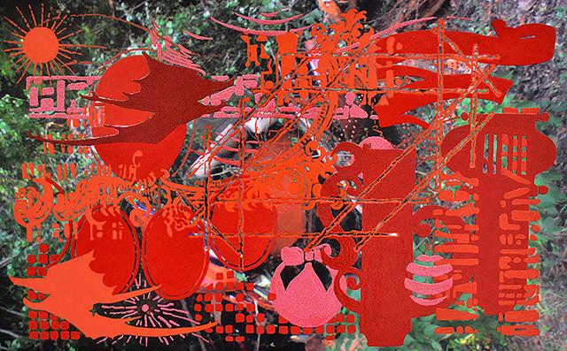 , 'Satan's Cue Card 9,' 2014, Tyler Wood Gallery