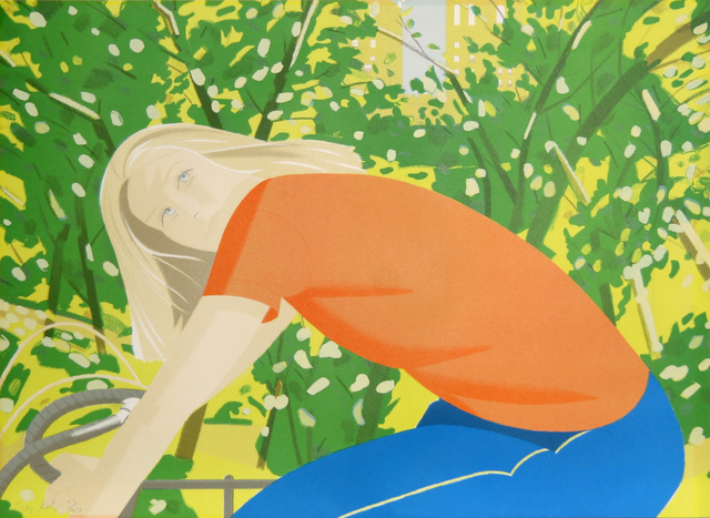 Alex Katz, 'Bicycling in Central Park from the New York, New York Portfolio', 1982, RoGallery