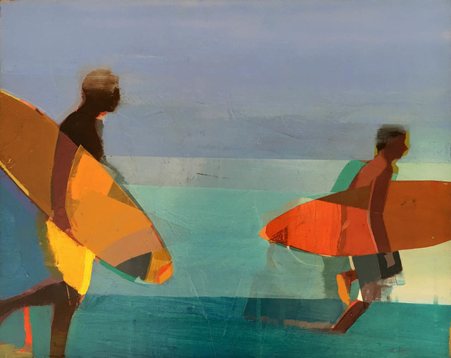 , 'Surfers,' 2016, Sue Greenwood Fine Art
