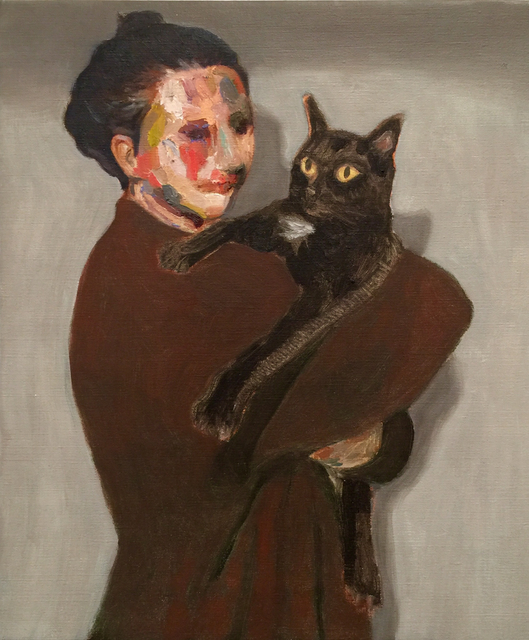 , 'Noe and her cat,' 2016, Yiri Arts