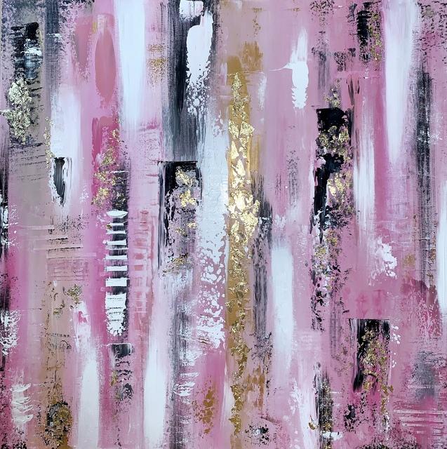 , '24k pink lemonade,' 2019, Forever Art Gallery