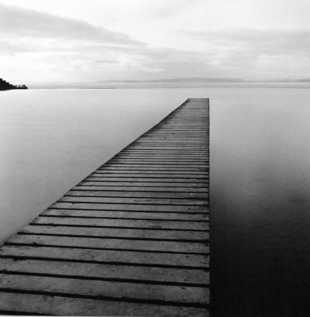 Michael Kenna, 'Plank Walk, Morecambe, Lancashire, England, 1992', 1992, Weston Gallery