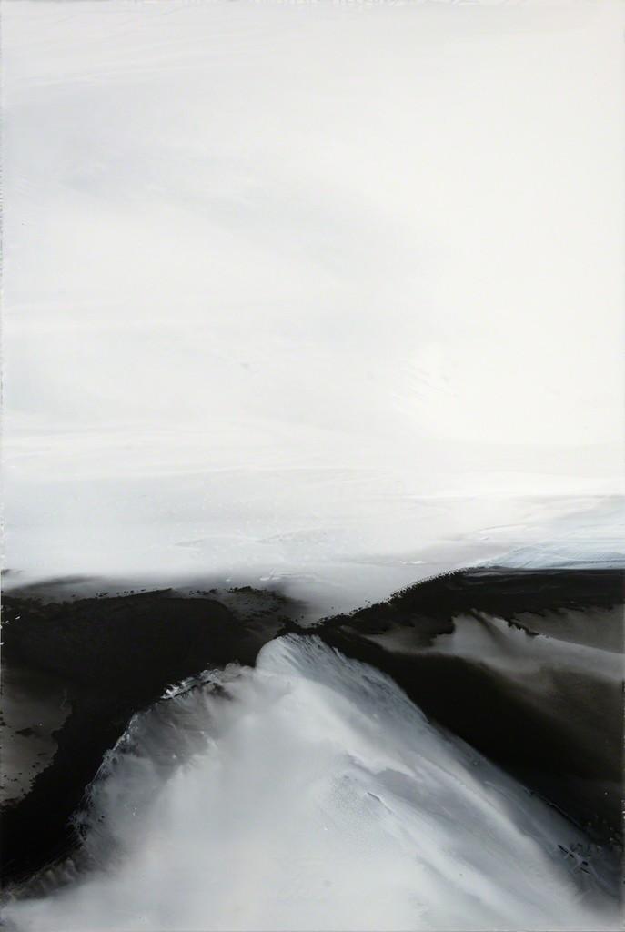 'Untitled (2/01/2018)' , 2018, 240 x 160 cm, acrylic paint on canvas; photo: Jürgen Baumann