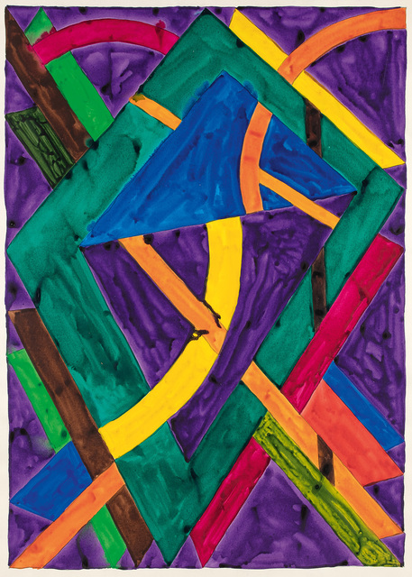 William T. Williams, 'Water Witch (Drawing After Sophia Jackson)', 1970, Michael Rosenfeld Gallery