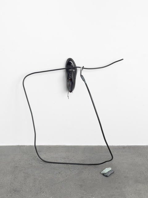Tatiana Trouvé, 'Wander Lines', 2016, Sculpture, Fabric, bronze, metal, leather, KÖNIG GALERIE