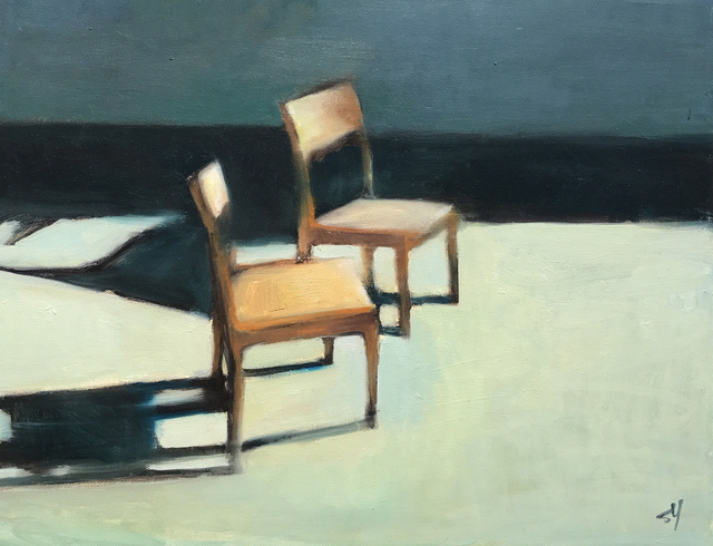 , 'Patio Chairs #2,' 2018, Sue Greenwood Fine Art