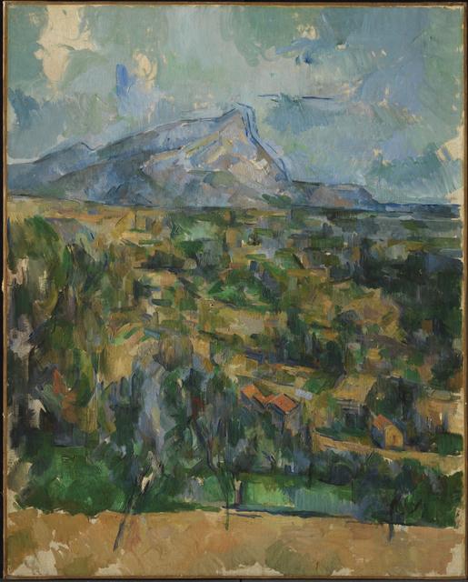 , 'Mont Sainte-Victoire,' 1904-1906, Princeton University Art Museum