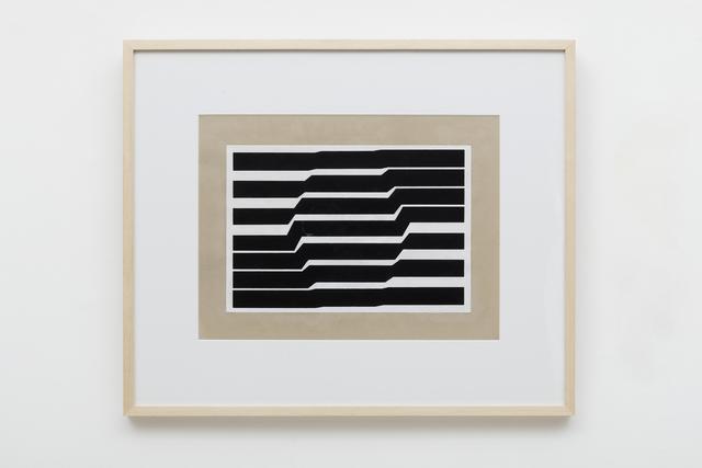 , 'metaesquema ,' 1958, Galeria Nara Roesler