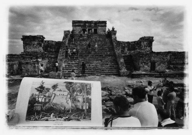 , 'Tulúm, after Catherwood [The Castle], (Tulúm, a la manera de Catherwood) [El Castillo],' 1993, Henrique Faria Fine Art