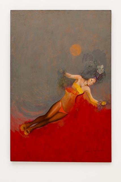 , 'A Passista com Cinza e Vermelho,' 1989, Bergamin & Gomide