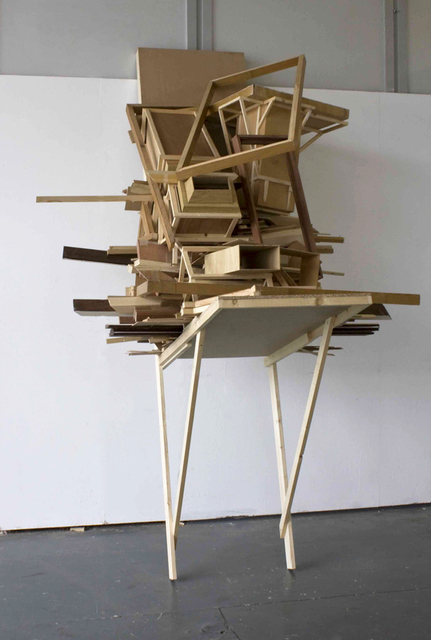 , 'Pile in gutter socket,' 2011, C&H gallery