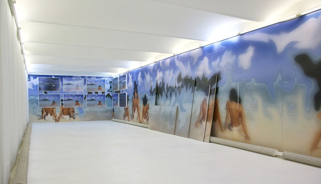 Installation view of 'Jennifer in Paradise'.