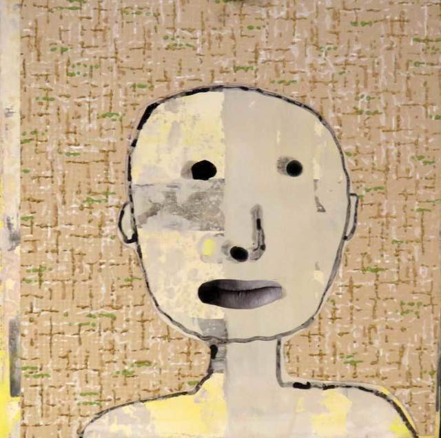 , 'Boy with Wallpaper,' 2016, Turner Carroll Gallery