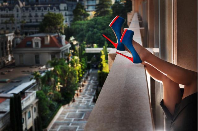 David Drebin, 'Heels in Monte Carlo ', 2019, Contessa Gallery