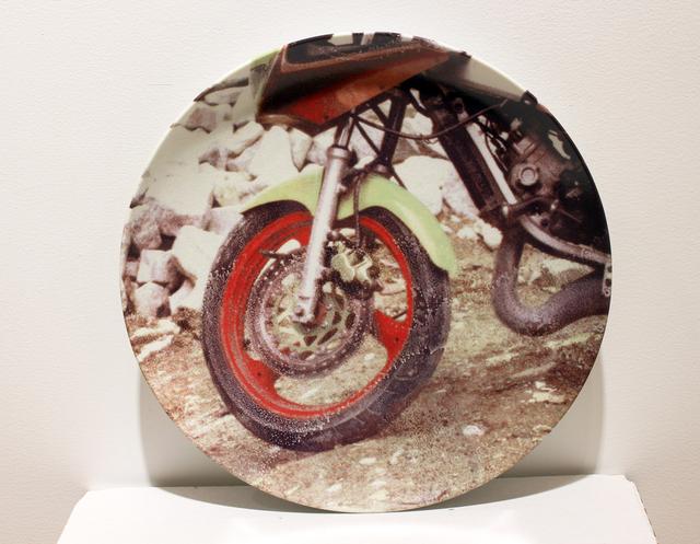 Robert Rauschenberg, 'Guggenheim Retrospective Limited Edition Suite of 6 Plates ', 1997, Design/Decorative Art, Porcelain plates, Woodward Gallery
