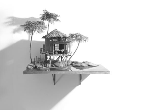 , 'Writer's Island (2),' 2014, Galleria Continua