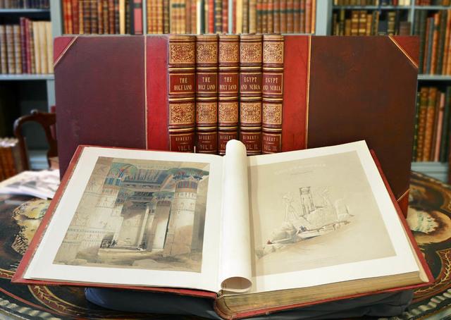 , 'The Holy Land, Syria, Idumea, Arabia, Egypt, & Nubia.,' 1842, 1845 & 1846, 1849., Shapero Rare Books Limited