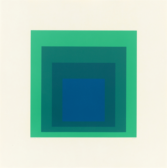 , 'Homage to the Square: Edition Keller Ia,' 1970, Ludorff