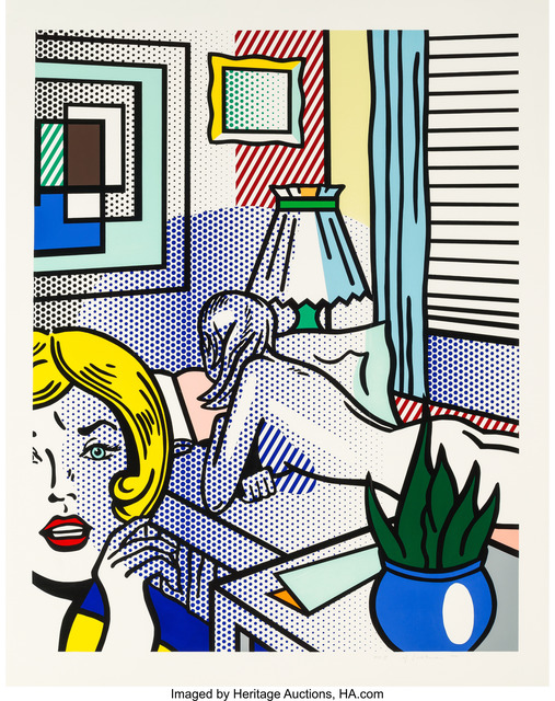 Roy Lichtenstein, 'Roommates, from Nude Series', 1994, Heritage Auctions