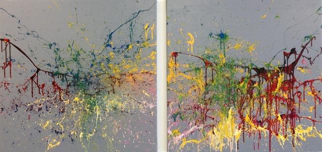 Khaled Jarrar, 'Butterfly #6', 2015, Painting, Acrylic on canvas, Wilde