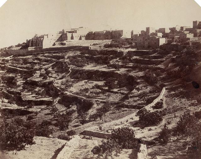 , 'Bath-lahem [sic] (Bethlehem), Palestine,' 1856, Contemporary Works/Vintage Works