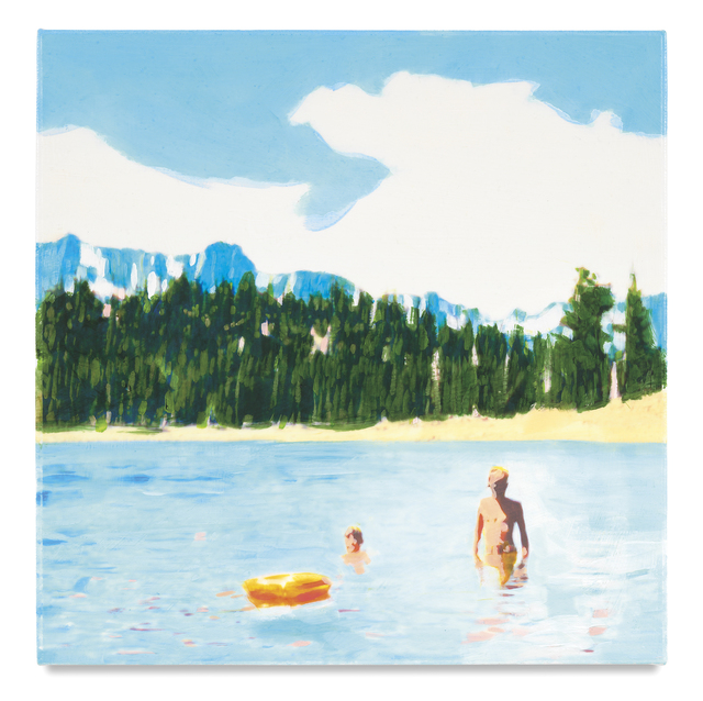 , 'Orange Raft,' 2017, Ameringer | McEnery | Yohe