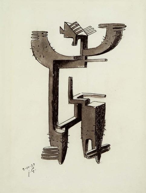 , 'Etude pour homme cactus,' 1939, Moeller Fine Art