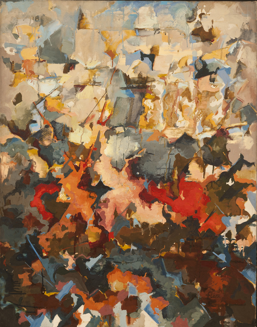 , 'Abstract Expressionist Landscape (With Sky),' 1951, Hollis Taggart Galleries