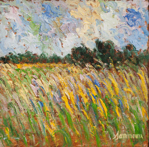 , 'Wheat Field,' 2018, Galerie d'Orsay