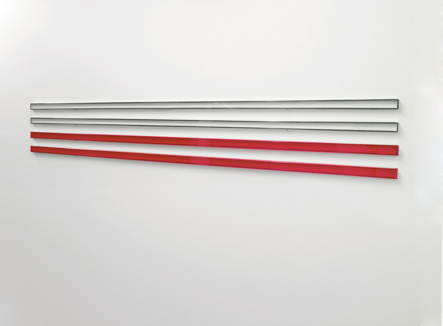 , 'Red View with Clear View,' 2007, i8 Gallery