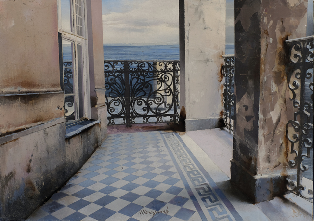 , 'Trieste,' 2017, Galleria Punto Sull'Arte
