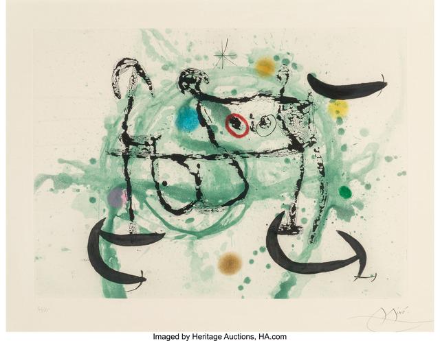 Joan Miró, 'L'ecartelee', 1970, Heritage Auctions