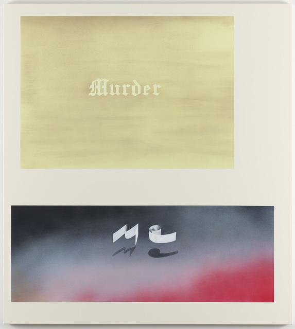 Jonathan Monk, 'Murder Me', 2008, Galleri Nicolai Wallner