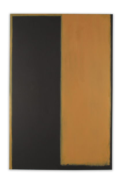 Peter Lodato, 'Ochre and Black Number Two', 2017, William Turner Gallery