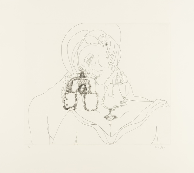 George Condo, 'From. More Sketches of Spain for Miles Davis', 1991, Forum Auctions