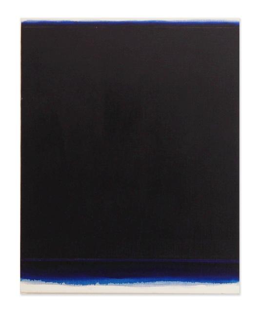 , 'Veil (deep ultramarine),' 2015, K. Imperial Fine Art