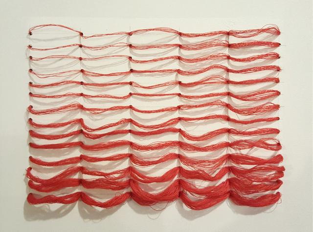 , 'Red grid,' 2016, Ro2 Art